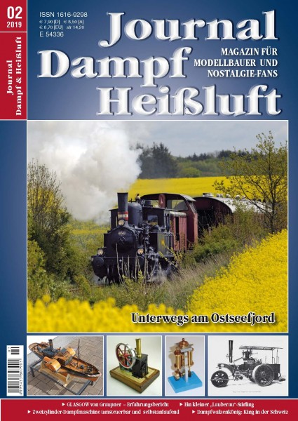Journal Dampf-Heißluft 2/2019