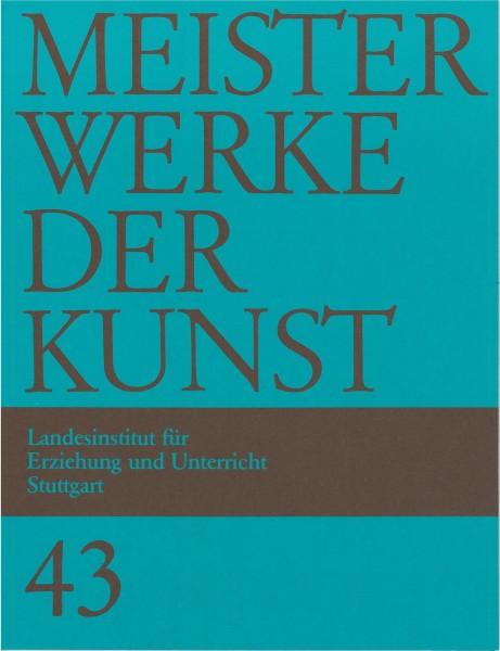 Kunstmappe 43/1995 Proportionen, Maß, Regel