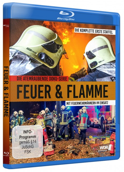 Feuer & Flamme Staffel 1 (Blu-ray Disc)