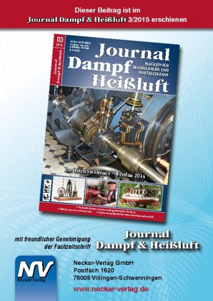 Download aus Journal Dampf & Heißluft 3/2015