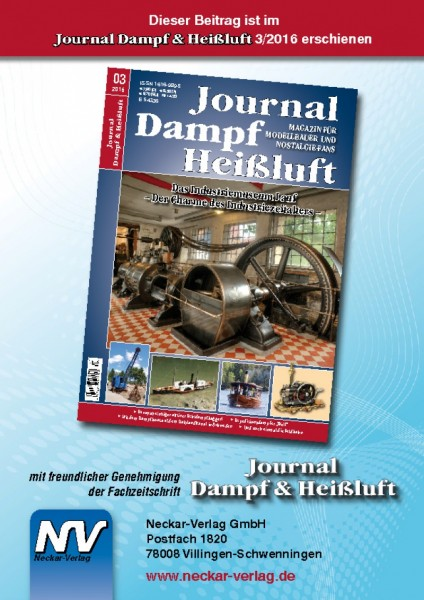 Download aus Journal Dampf & Heißluft 3/2016