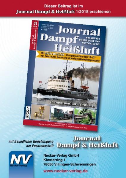 13. Dampf Rundum in Flensburg