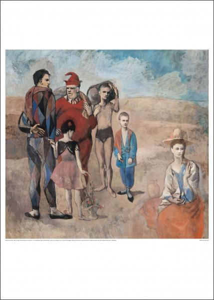 Kunstdruck Picasso - La familie de Saltimbanques