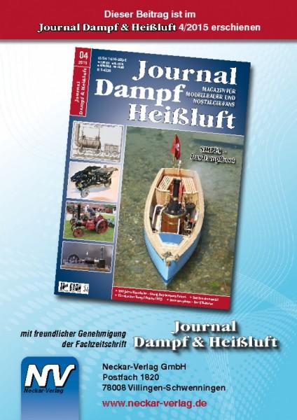 Download aus Journal Dampf & Heißluft 4/2015