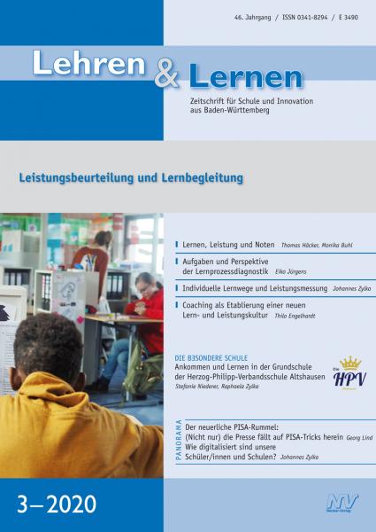 Lehren & Lernen 3/2020 Leistungsbeurteilung und Lernbegleitung