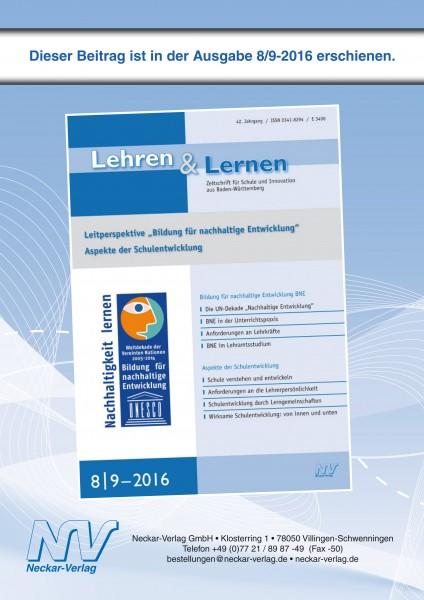 Bildung für nachhaltige Entwicklung (BNE) im Lehramtsstudium in Baden-Württemberg