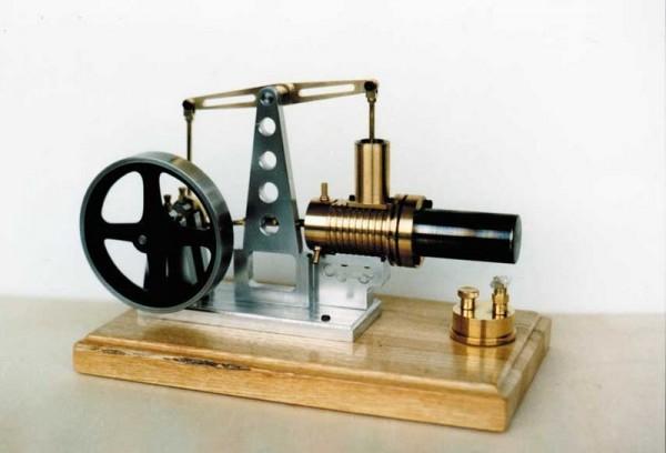 Bauplan Beam-Heißluftmaschine