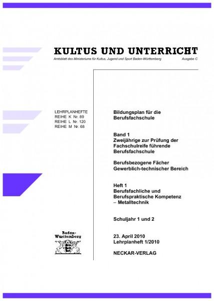 LPH 1/2010 - Metalltechnik