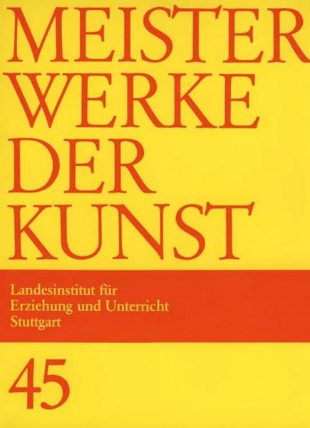 Kunstmappe 45/1997 Bildende Kunst im Gespräch mit Deutsch, Geschichte und Religion