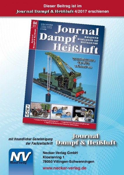 Download aus Journal Dampf & Heißluft 4/2017