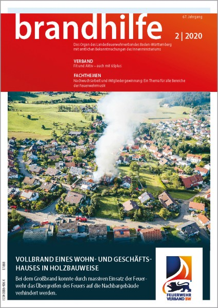 Brandhilfe Baden-Württemberg 2/2020