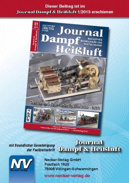 Download aus Journal Dampf & Heißluft 1/2015