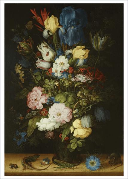Kunstdruck Savery - Blumenstrauß