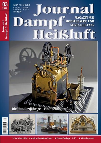 Journal Dampf-Heißluft 3/2018