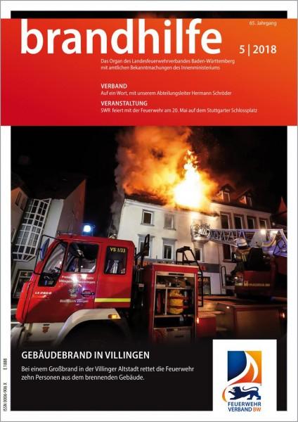 Brandhilfe Baden-Württemberg 5/2018