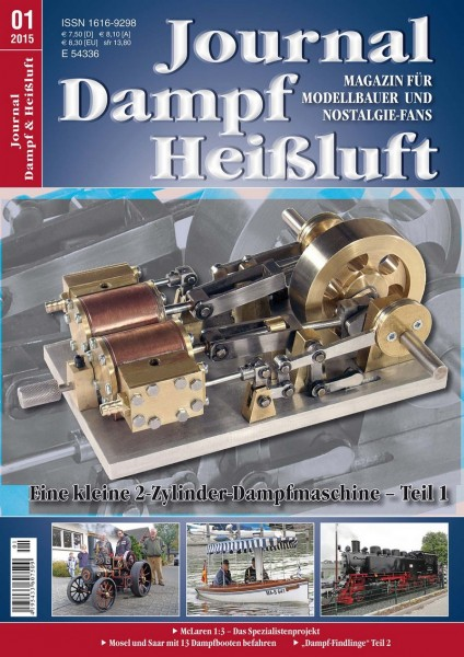Journal Dampf & Heißluft 1/2015