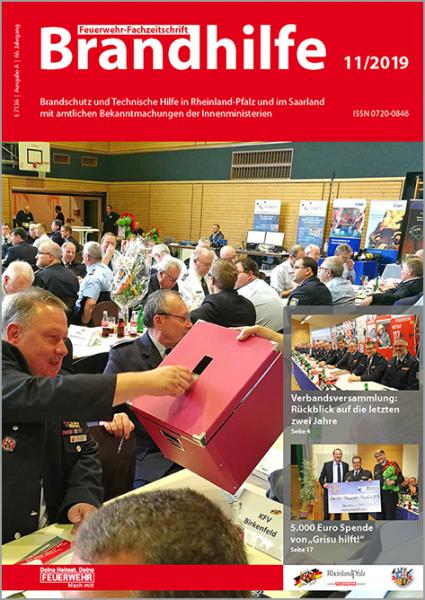 Brandhilfe Rheinland-Pfalz 11/2019