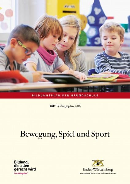 LPH 1/2016 Bildungsplan - Bewegung, Spiel und Sport