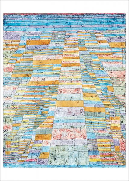 Kunstdruck Klee - Hauptweg und Nebenwege