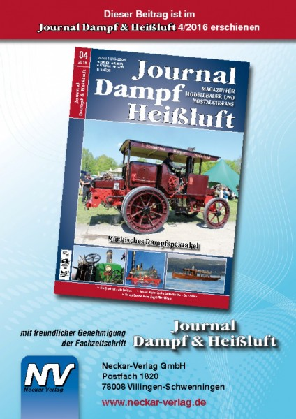 Download aus Journal Dampf & Heißluft 4/2016