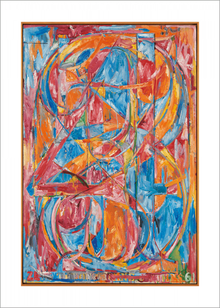 Kunstdruck Jasper Johns: 0 through 9
