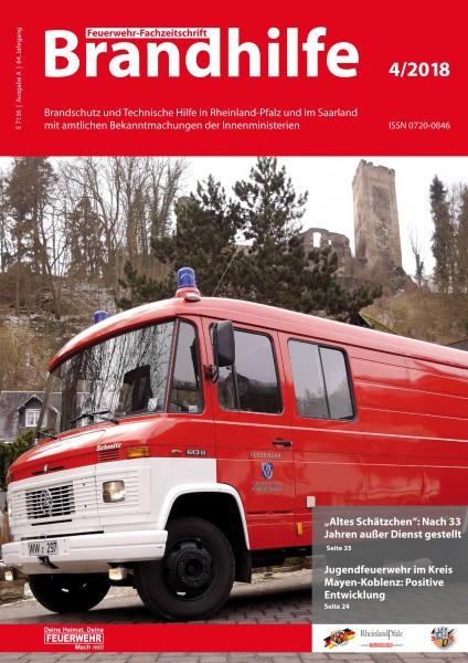 Brandhilfe Rheinland-Pfalz 4/2018