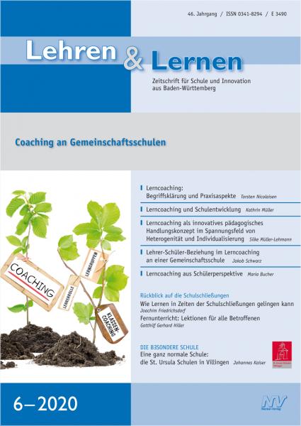 Lehren & Lernen 6/2020 Coaching an Gemeinschaftsschulen