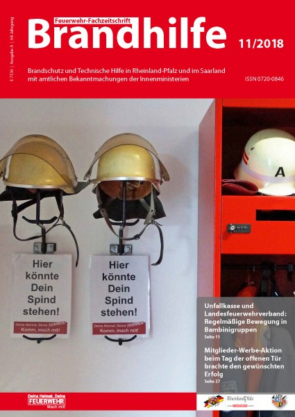 Brandhilfe Rheinland-Pfalz 11/2018