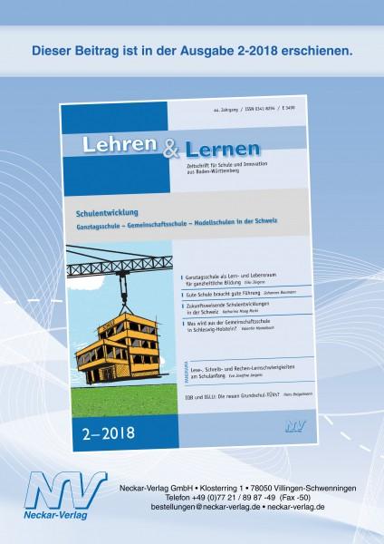 Zukunftsweisende Schulentwicklungen in der Schweiz
