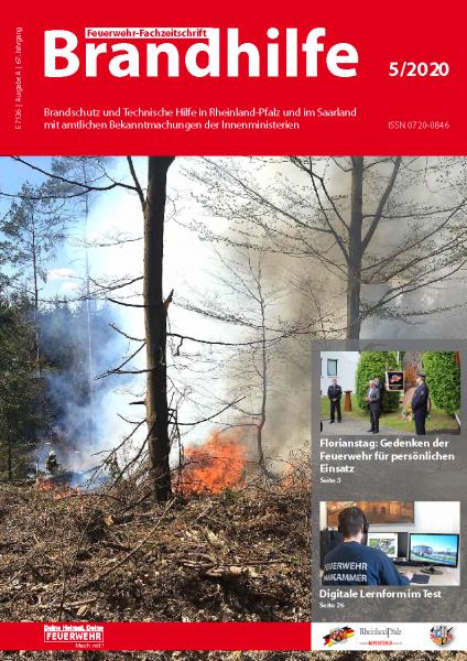 Brandhilfe Rheinland-Pfalz/Saarland 5-2020